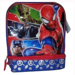 Marvel Avengers Dual Lunch Bag